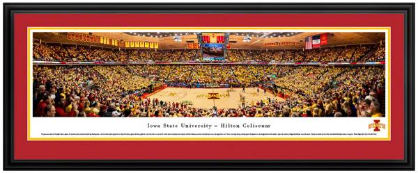 Blakeway Panoramas Iowa State Cyclones Double Mat Deluxe Frame product image