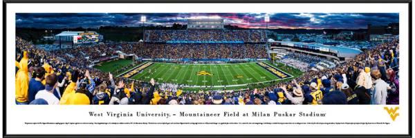 Blakeway Panoramas West Virginia Mountaineers Standard Frame product image