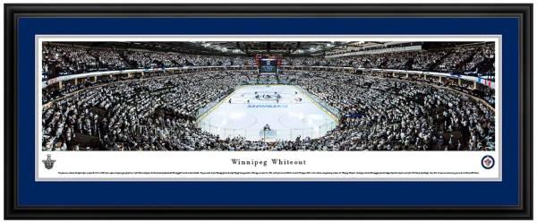 Blakeway Panoramas Winnipeg Jets Mat Deluxe Frame product image