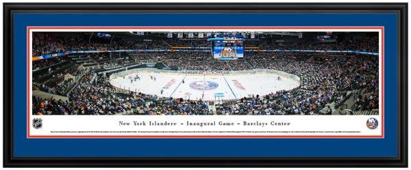 Blakeway Panoramas New York Islanders Mat Deluxe Frame product image