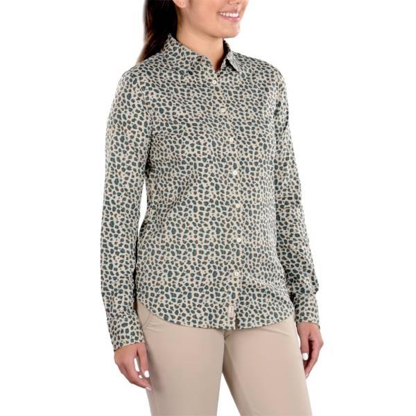 SwingDish Women's Charlene Mini Leopard Button Up Shirt product image