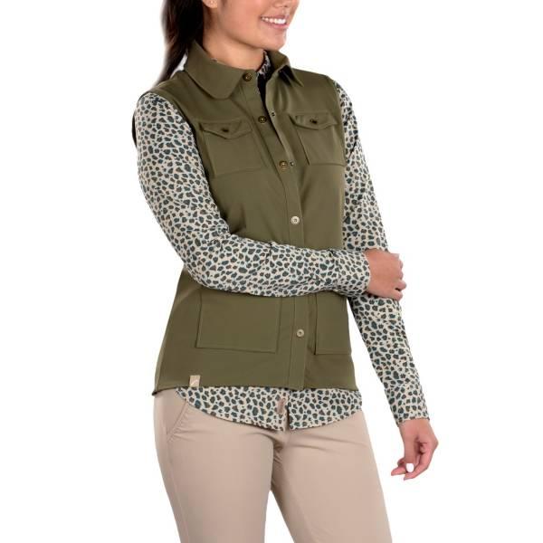SwingDish Women's Amari Khaki Vest product image