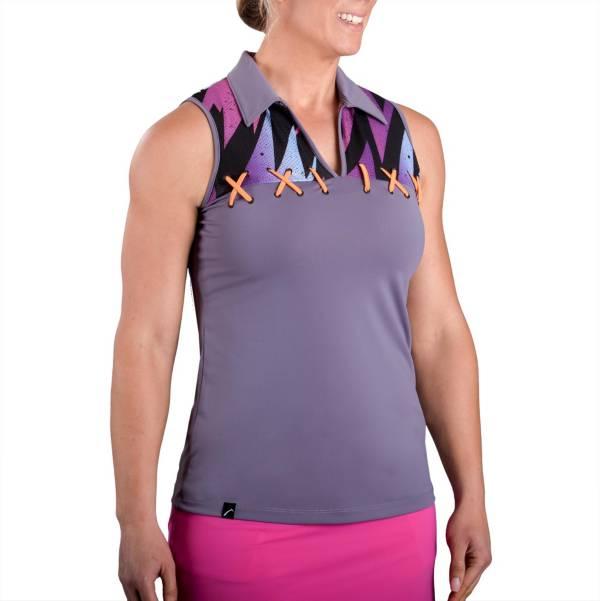 SwingDish Women's Riyah Sleeveless Golf Polo product image