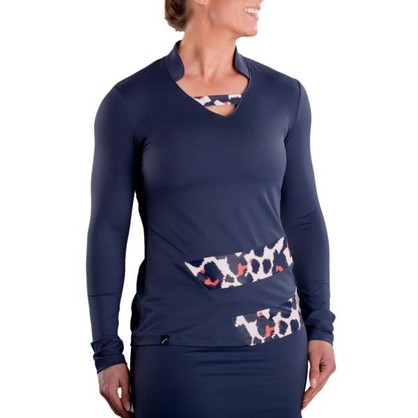 SwingDish Women's Sage Long Sleeve Golf Top product image