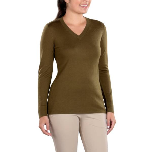 SwingDish Women's Eve V-Neck Sweater product image