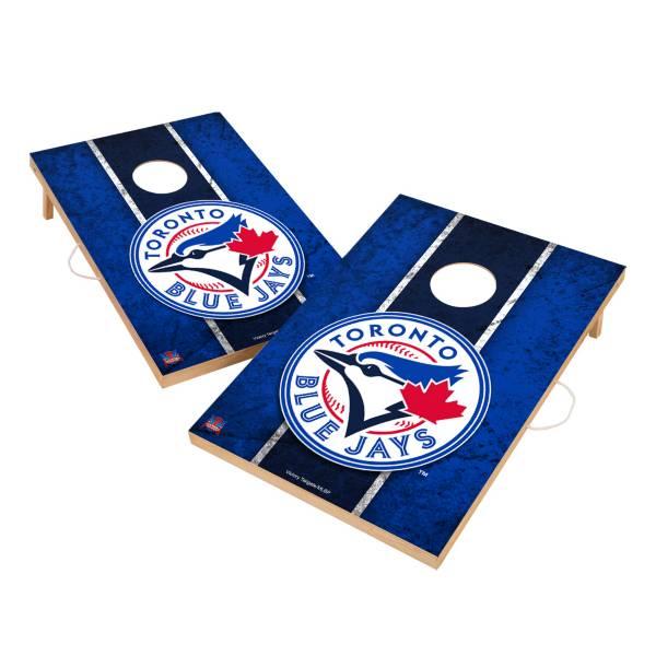 Victory Toronto Blue Jays 2' x 3' Solid Wood Cornhole Boards product image