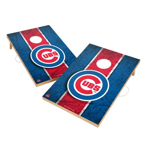 Victory Tailgate Chicago Cubs 2' x 3' Solid Wood Cornhole Boards product image