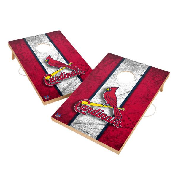 Victory Tailgate St. Louis Cardinals 2' x 3' Solid Wood Cornhole Boards product image