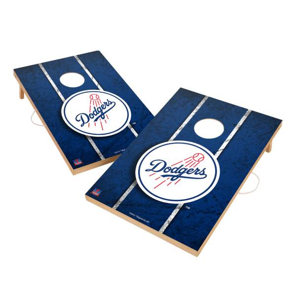 Victory Los Angeles Dodgers 2' x 3' Solid Wood Cornhole Boards product image