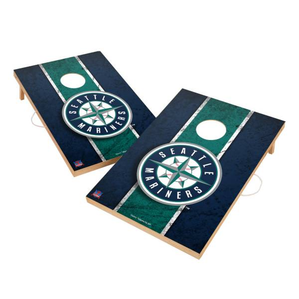 Victory Tailgate Seattle Mariners 2' x 3' Solid Wood Cornhole Boards product image