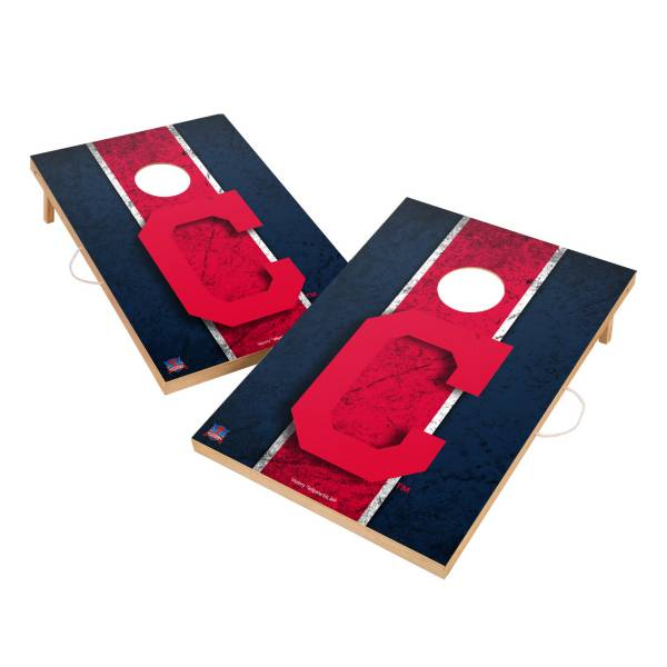 Victory Cleveland Indians 2' x 3' Solid Wood Cornhole Boards product image