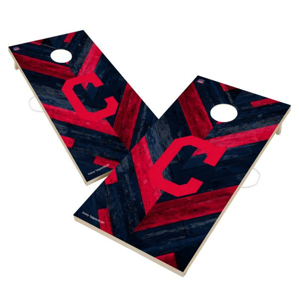 Victory Tailgate Cleveland Indians 2' x 4' Solid Wood Cornhole Boards product image