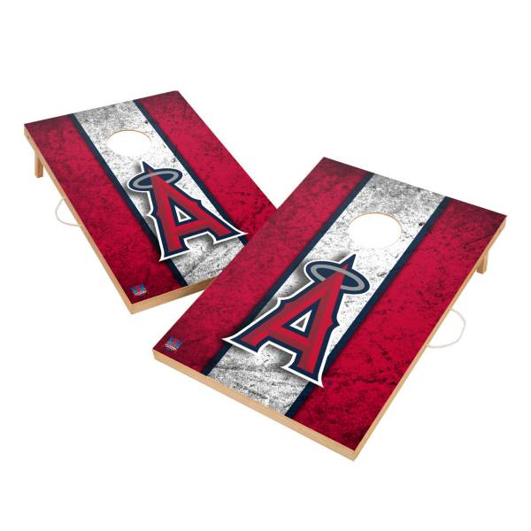Victory Tailgate Los Angeles Angels 2' x 3' Solid Wood Cornhole Boards product image
