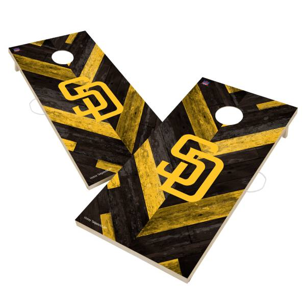 Victory Tailgate San Diego Padres 2' x 4' Solid Wood Cornhole Boards product image
