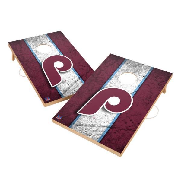 Victory Tailgate Philadelphia Phillies 2' x 3' Solid Wood Cornhole Boards product image