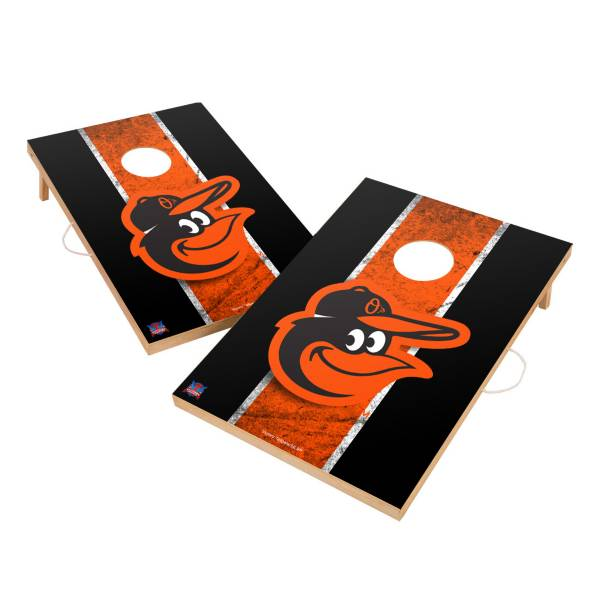 Victory Tailgate Baltimore Orioles 2' x 3' Solid Wood Cornhole Boards product image