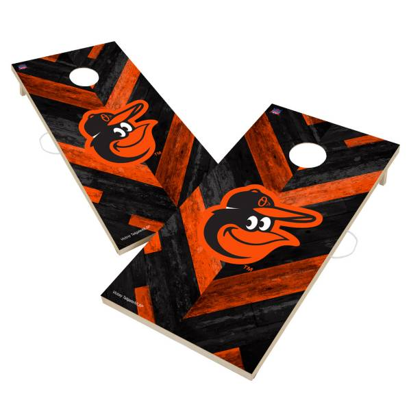Victory Tailgate Baltimore Orioles 2' x 4' Solid Wood Cornhole Boards product image