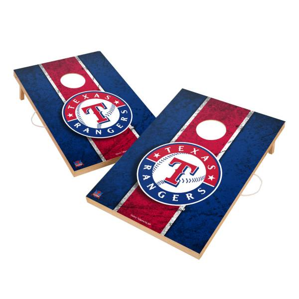 Victory Tailgate Texas Rangers 2' x 3' Solid Wood Cornhole Boards product image