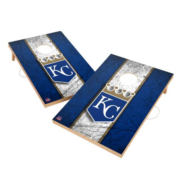 Victory Tailgate Kansas City Royals 2' x 3' Solid Wood Cornhole Boards product image
