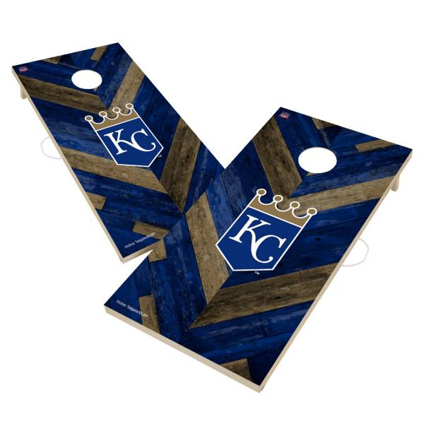 Victory Kansas City Royals 2' x 4' Solid Wood Cornhole Boards product image