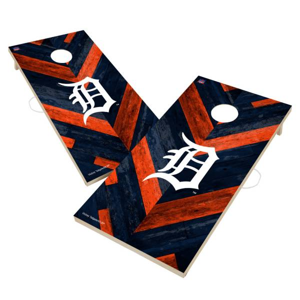 Victory Tailgate Detroit Tigers 2' x 4' Solid Wood Cornhole Boards product image