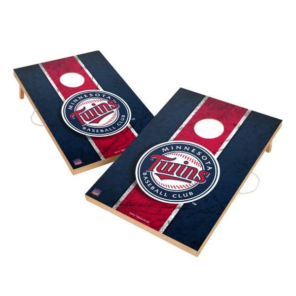 Victory Minnesota Twins 2' x 3' Solid Wood Cornhole Boards product image