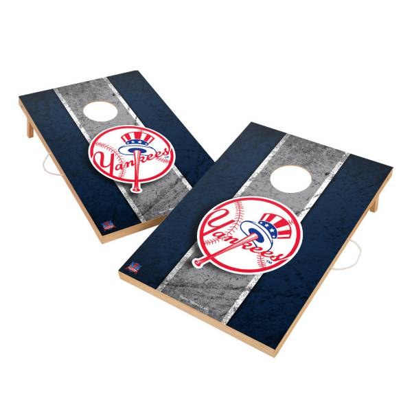 Victory New York Yankees 2' x 3' Solid Wood Cornhole Boards product image