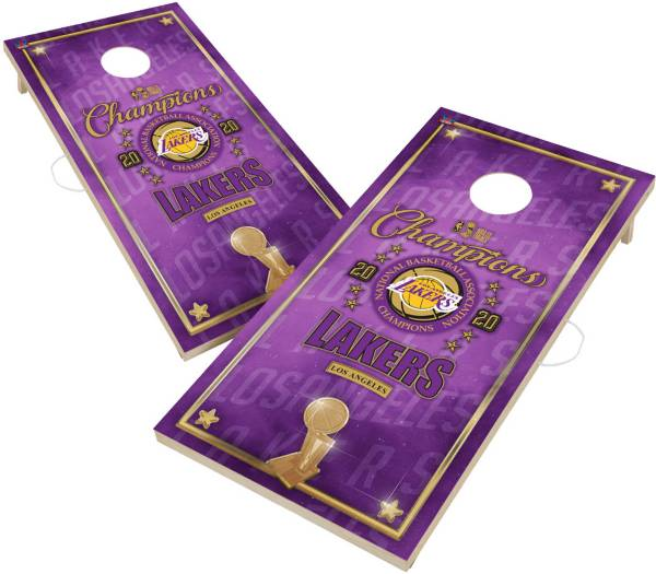 Victory Tailgate Los Angeles Lakers 2' x 4' Cornhole Boards product image