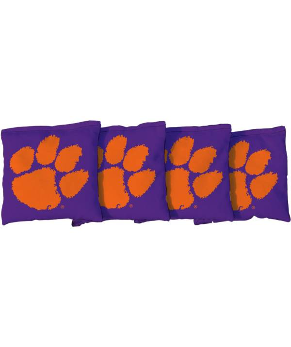 Victory Tailgate Clemson Tigers Cornhole 4-Pack Bean Bags product image