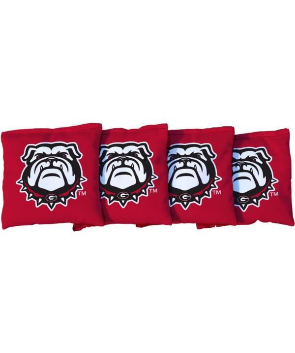 Victory Tailgate Georgia Bulldogs Cornhole 4-Pack Bean Bags product image