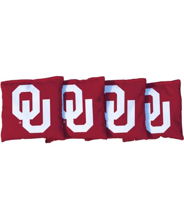 Victory Tailgate Oklahoma Sooners Cornhole 4-Pack Bean Bags product image