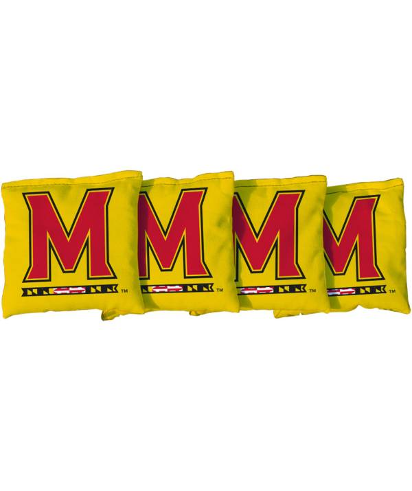 Victory Tailgate Maryland Terrapins Cornhole 4-Pack Bean Bags product image