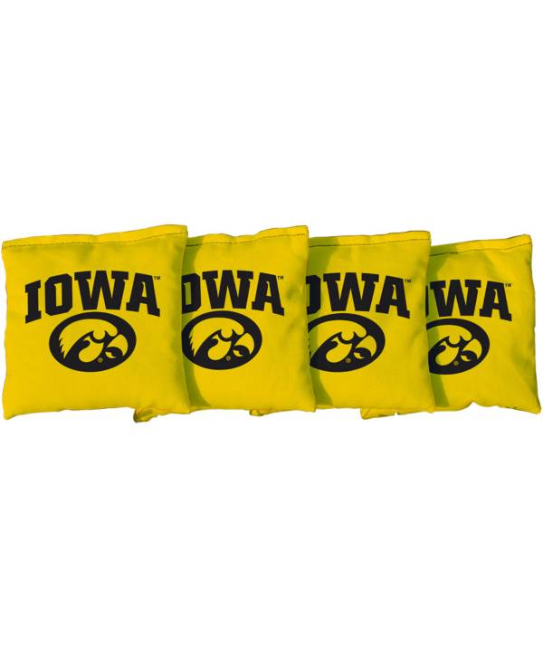 Victory Tailgate Iowa Hawkeyes Cornhole 4-Pack Bean Bags product image