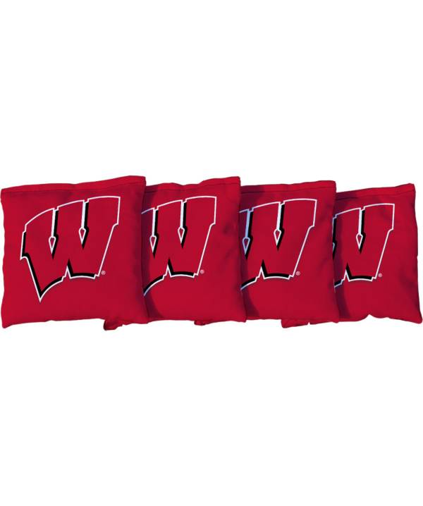 Victory Tailgate Wisconsin Badgers Cornhole 4-Pack Bean Bags product image