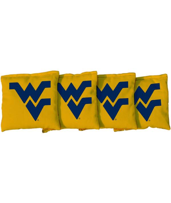 Victory Tailgate West Virginia Mountaineers Cornhole 4-Pack Bean Bags product image