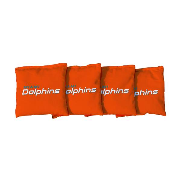 Victory Tailgate Miami Dolphins Cornhole Bean Bags product image