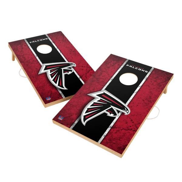 Victory Tailgate Atlanta Falcons 2' x 3' Solid Wood Cornhole Boards product image