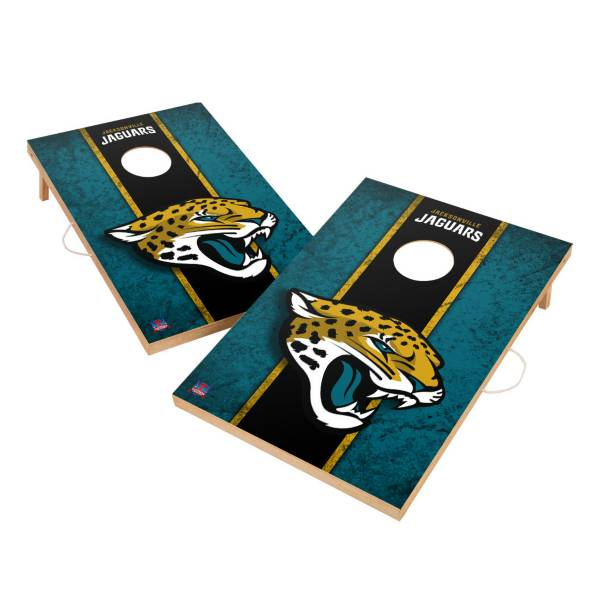 Victory Tailgate Jacksonville Jaguars 2' x 3' Solid Wood Cornhole Boards product image