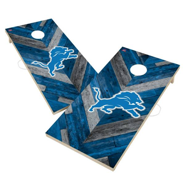 Victory Tailgate Detroit Lions 2' x 4' Solid Wood Cornhole Boards product image