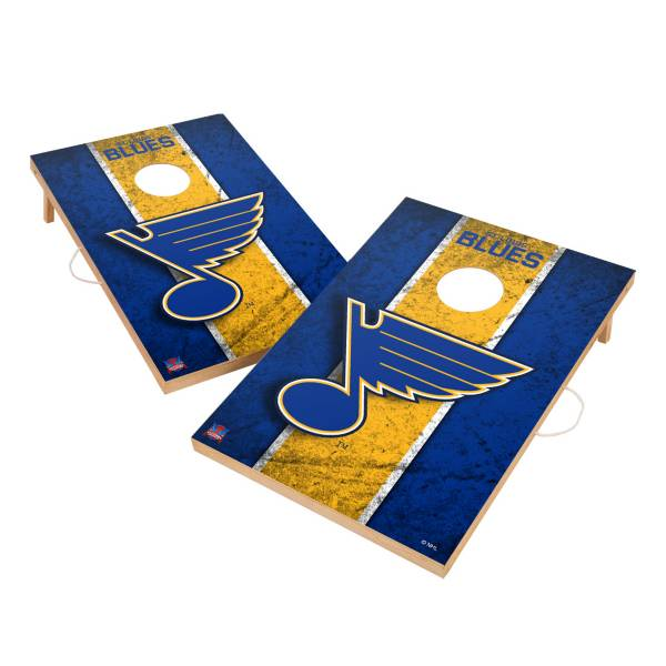 Victory Tailgate St. Louis Blues 2' x 3' Solid Wood Cornhole Boards product image