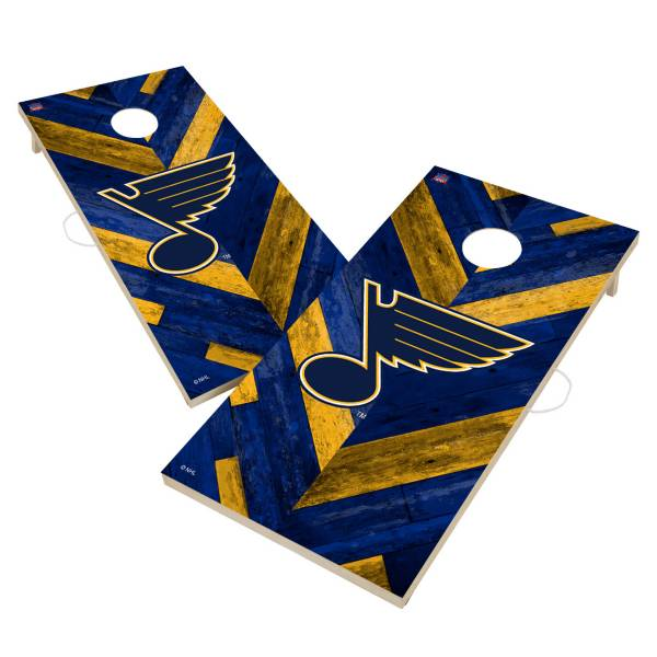 Victory Tailgate St. Louis Blues 2' x 4' Solid Wood Cornhole Boards product image