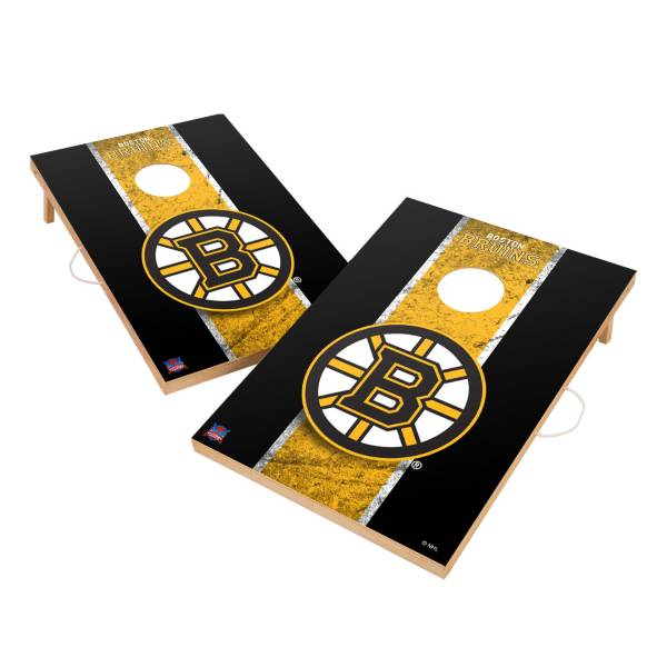 Victory Tailgate Boston Bruins 2' x 3' Solid Wood Cornhole Boards product image