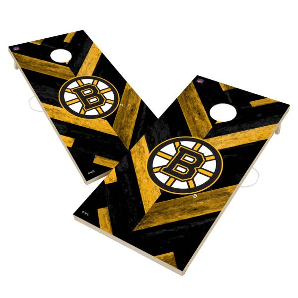 Victory Tailgate Boston Bruins 2' x 4' Solid Wood Cornhole Boards product image