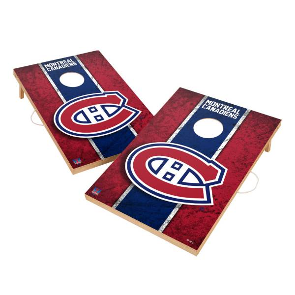 Victory Tailgate Montreal Canadiens 2' x 3' Solid Wood Cornhole Boards product image