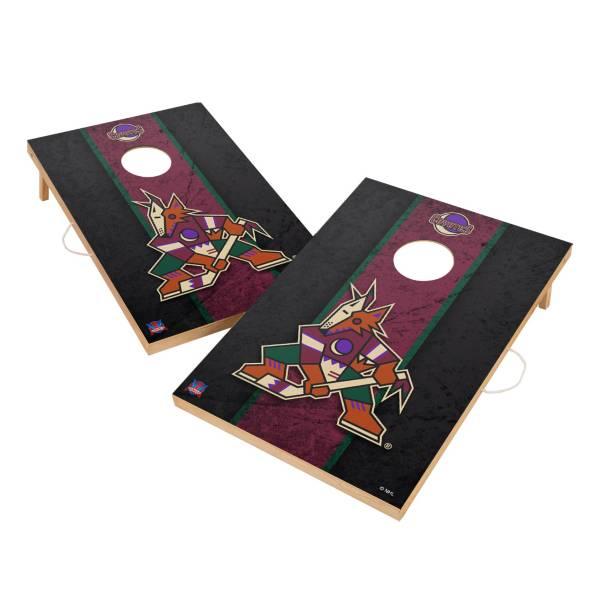 Victory Arizona Coyotes 2' x 3' Solid Wood Cornhole Boards product image