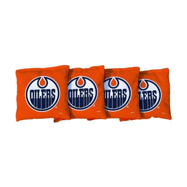 Victory Tailgate Edmonton Oilers Cornhole Bean Bags product image