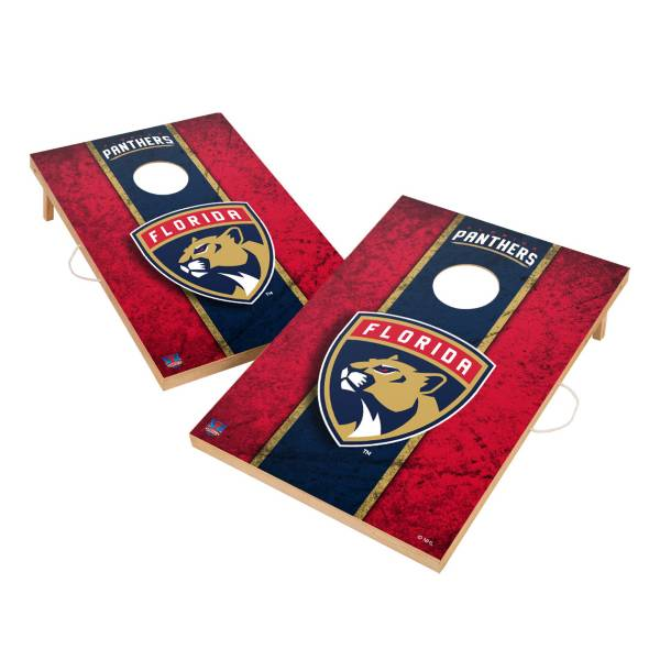 Victory Florida Panthers 2' x 3' Solid Wood Cornhole Boards product image
