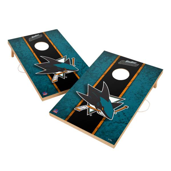 Victory Tailgate San Jose Sharks 2' x 3' Solid Wood Cornhole Boards product image