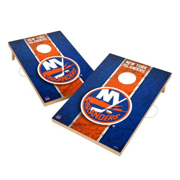 Victory Tailgate New York Islanders 2' x 3' Solid Wood Cornhole Boards product image