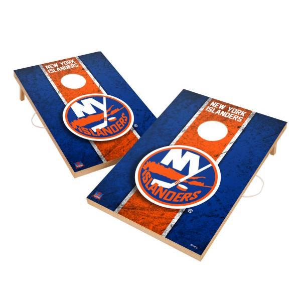 Victory New York Islanders 2' x 3' Solid Wood Cornhole Boards product image